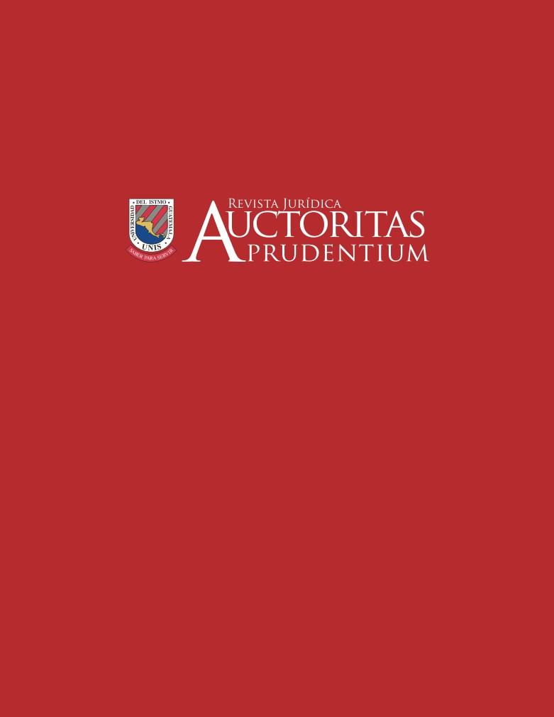 Revista Auctoritas Prudentium